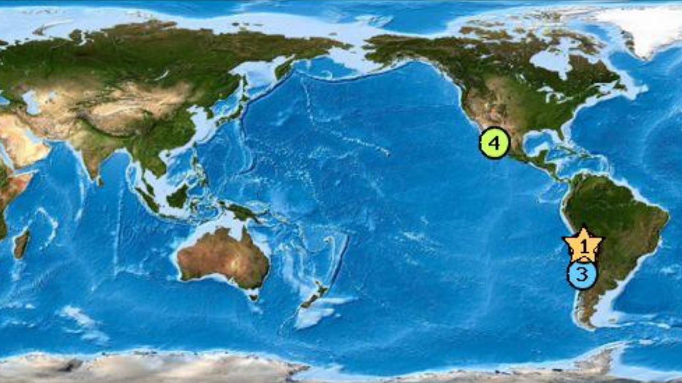 Hawaii Under Tsunami Watch After 8.3 Quake Off Chile