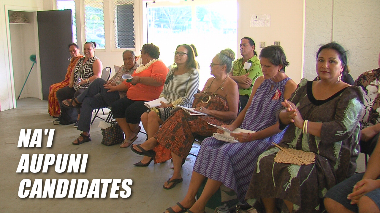 VIDEO: Na'i Aupuni Candidates In Panaewa