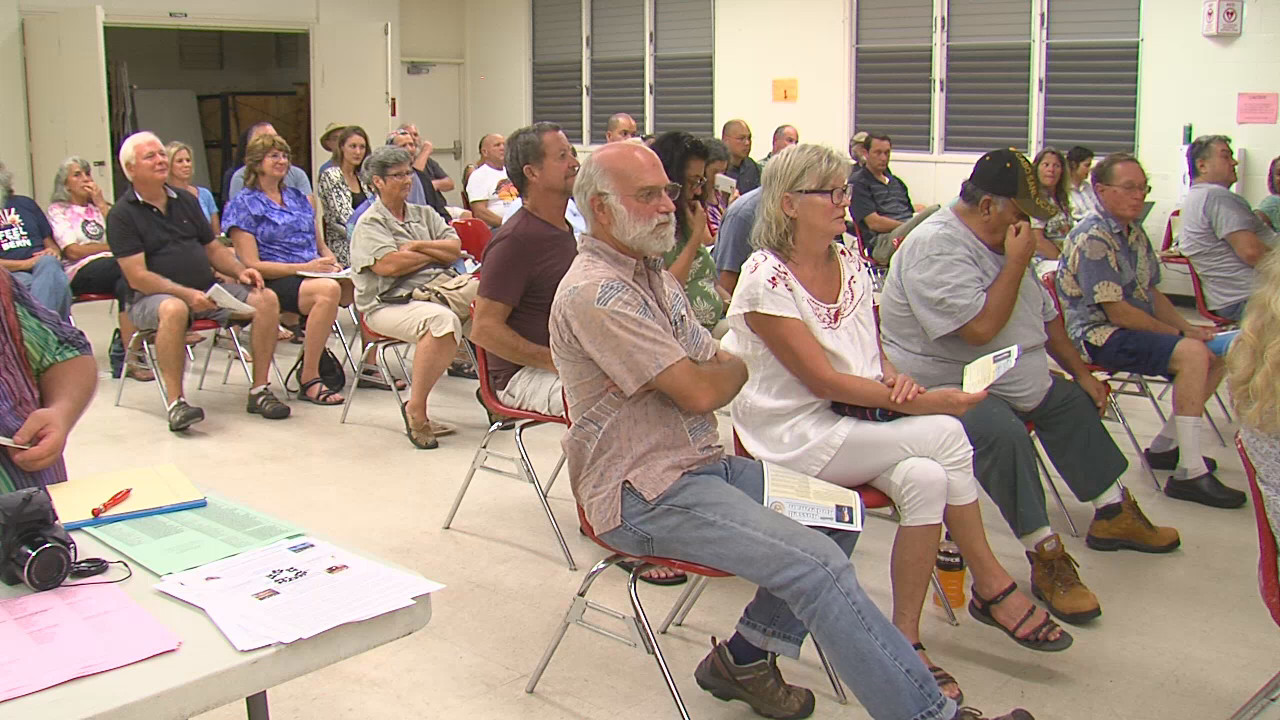 VIDEO: Puna Community, Senator Discuss Rapid Ohia Death