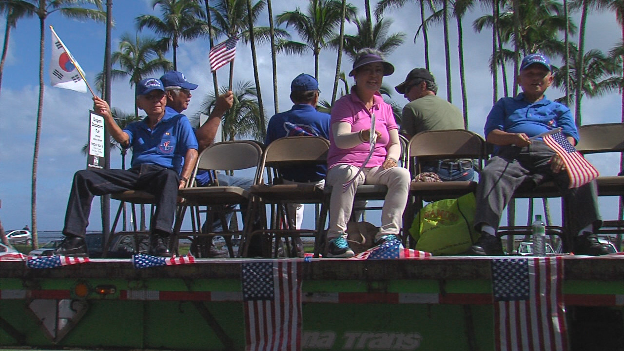 VIDEO: Veterans Day Parade Marches Through Hilo