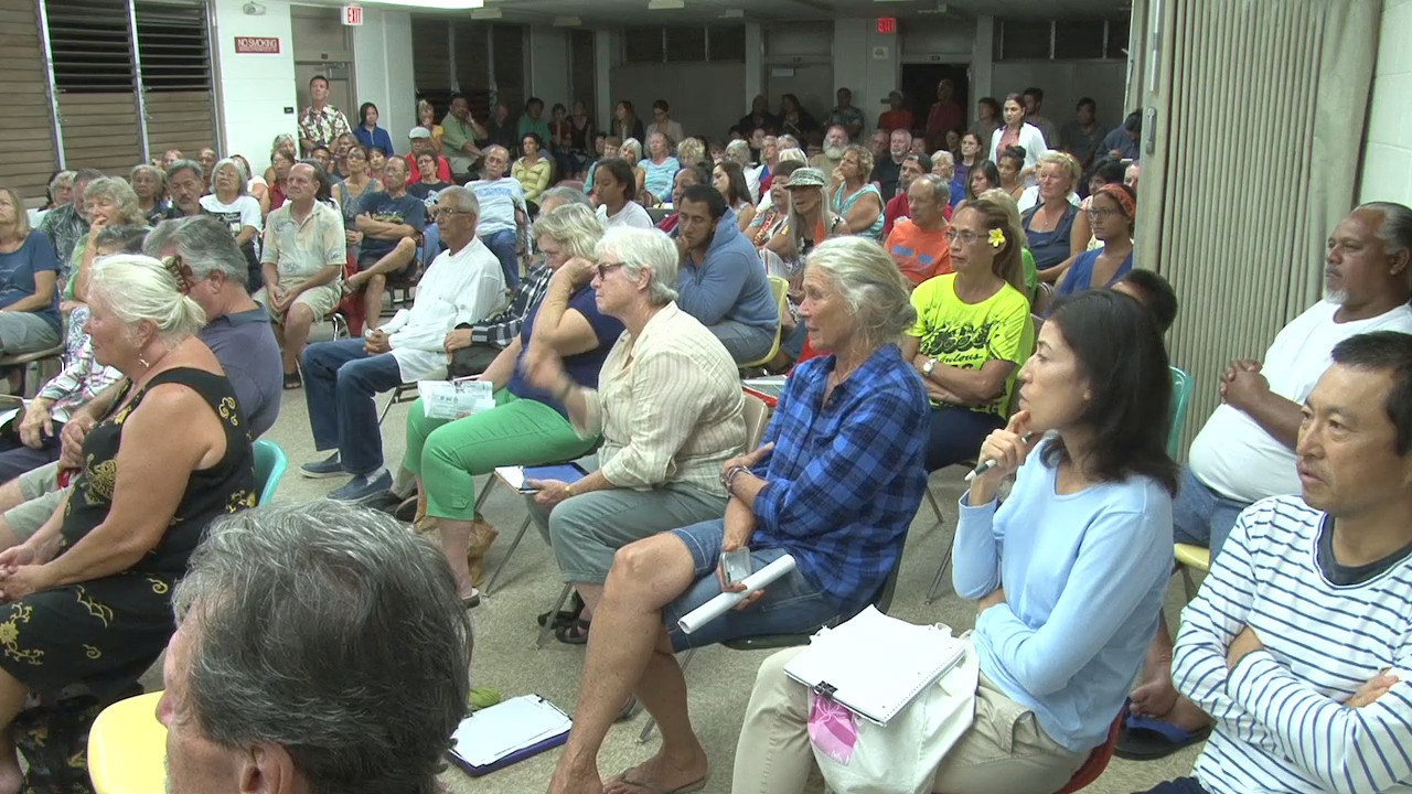 VIDEO: Reaction To Dengue Fever Meeting in Kona