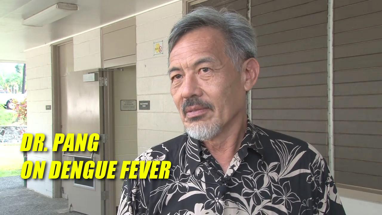 VIDEO: Dr. Lorrin Pang Dengue Fever Interview