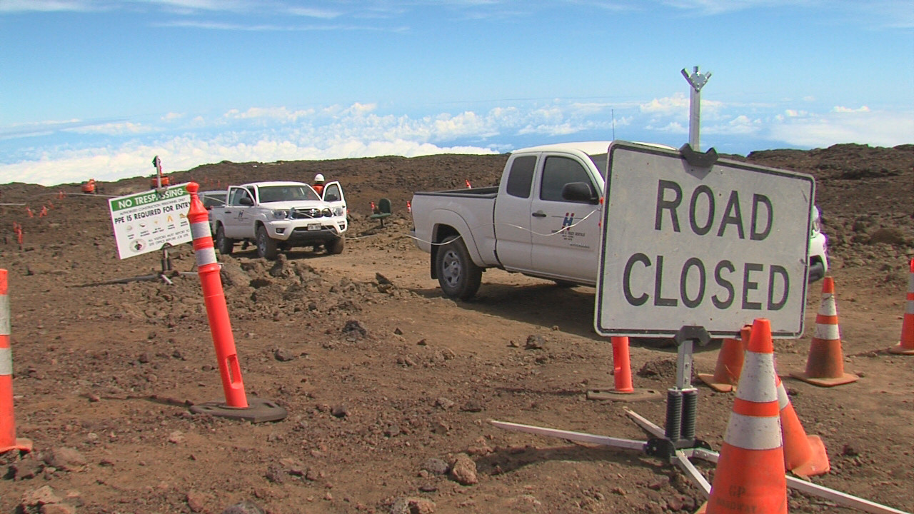 Thirty Meter Telescope Crews Plan Return To Mauna Kea Summit