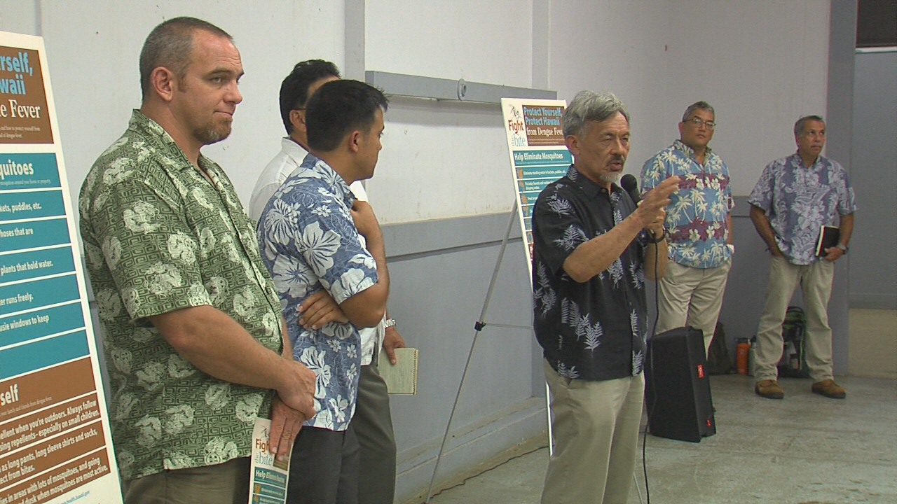 VIDEO: Dengue Fever Meeting Held In Naalehu