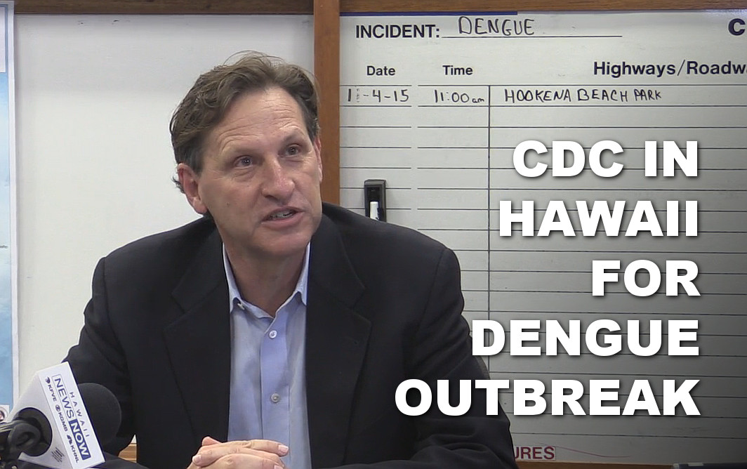 VIDEO: CDC In Hawaii As Dengue Fever Count Reaches 136