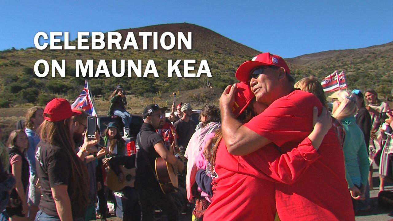 VIDEO: Musical Celebration Held On Mauna Kea