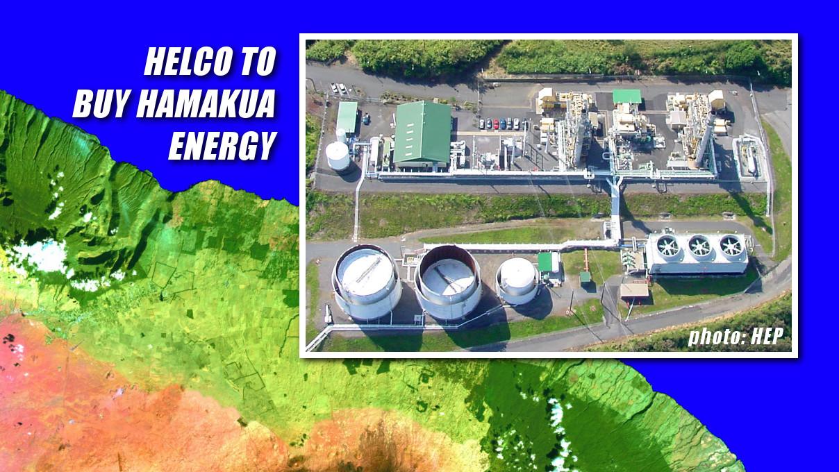 HELCO To Buy 60 MW Hamakua Energy Power Plant