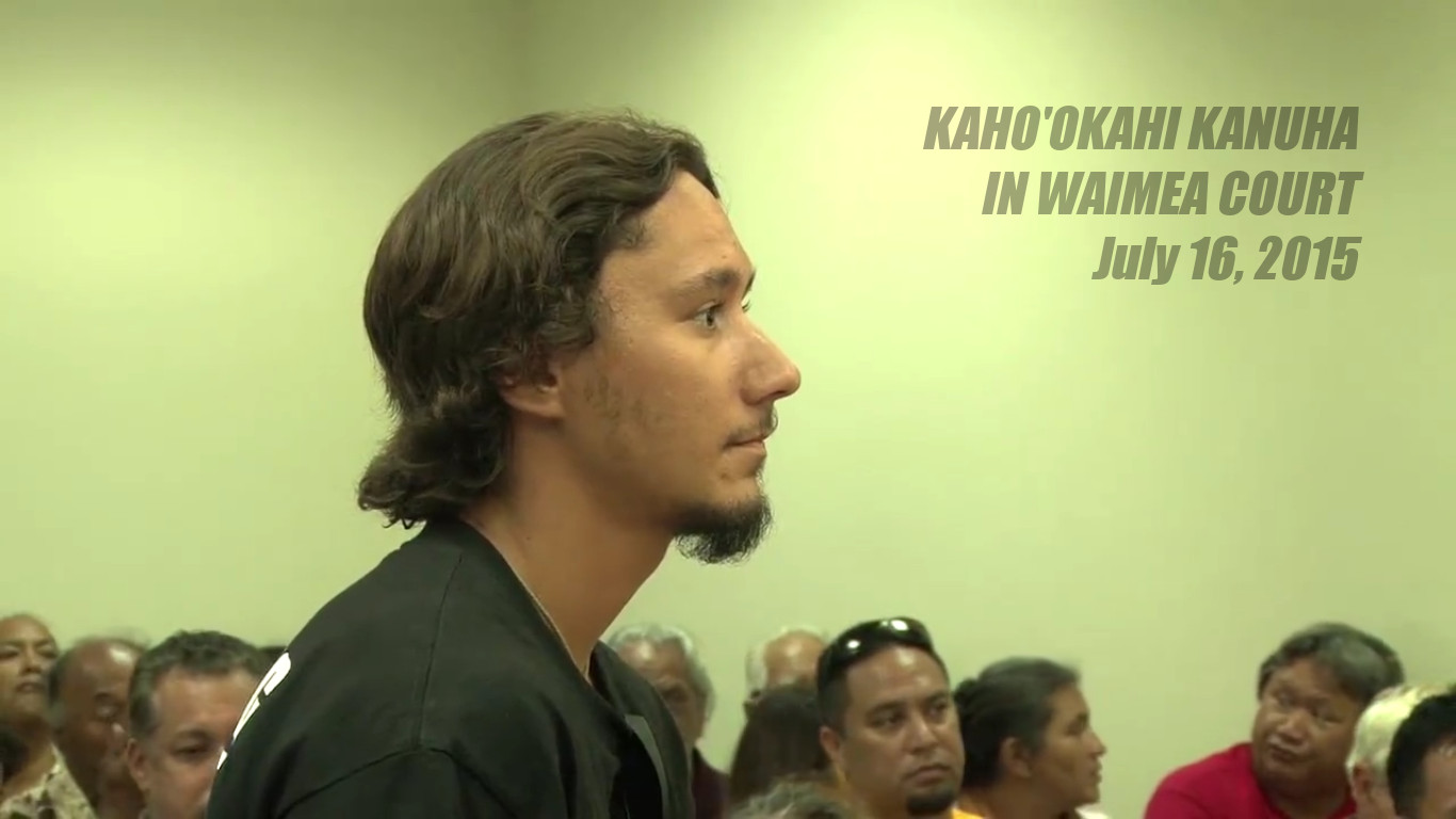 Kanuha Found Not Guilty Of Obstruction on Mauna Kea