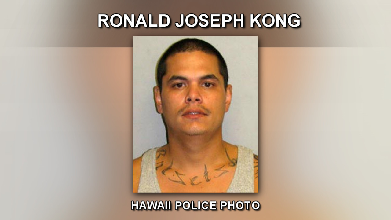 Police Nab Wanted Ronald Kong