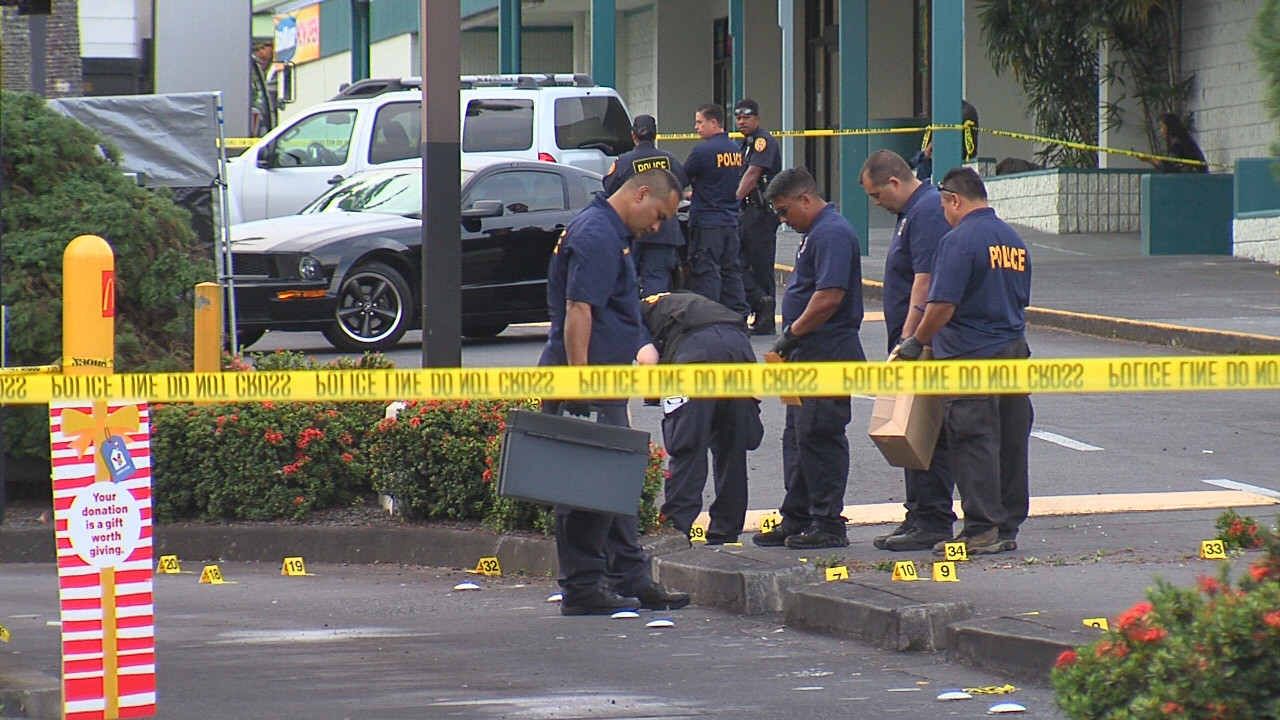 VIDEO: Police-Involved Shooting At Hilo McDonald's