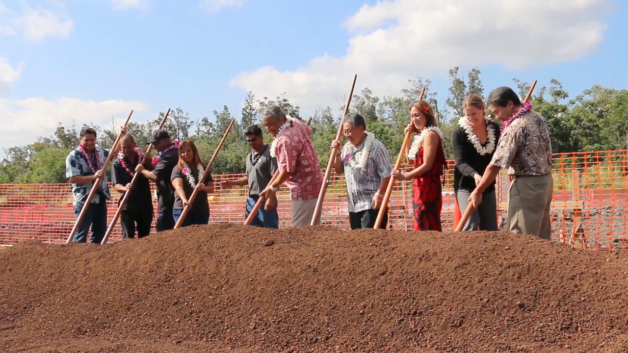VIDEO: Ground Broken for New Mass Transit Baseyard in Hilo
