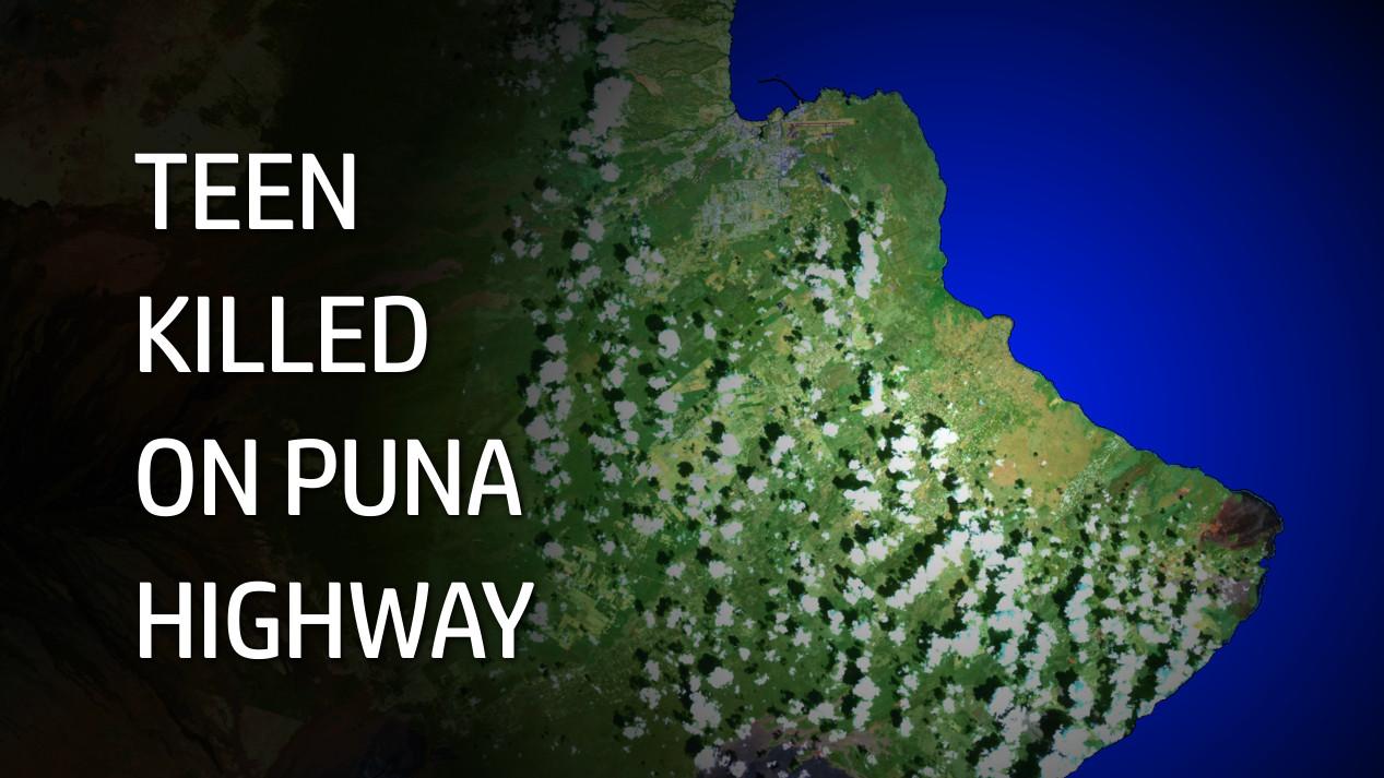 Teen Killed In Puna Highway Crash