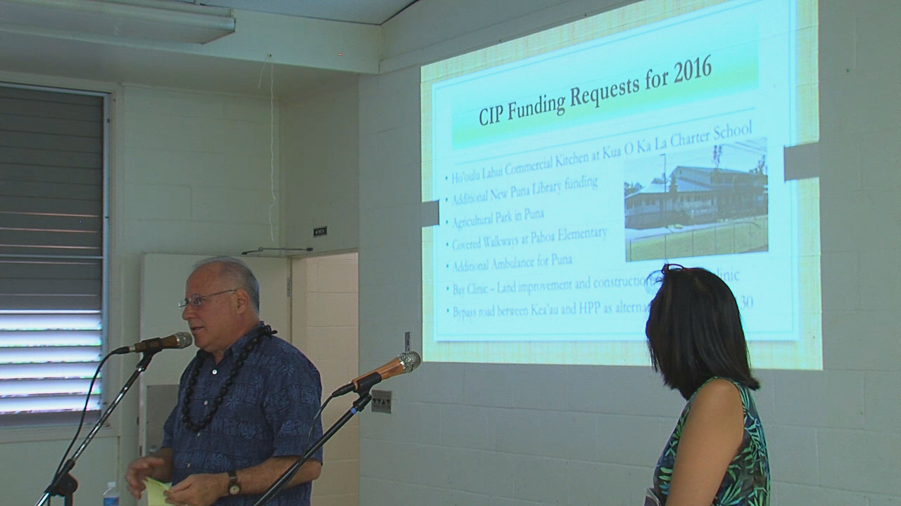 VIDEO: Lawmakers Talk CIP Requests For Puna