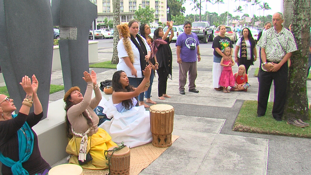 VIDEO: Ceremony Held Before TMT Sublease Remanded