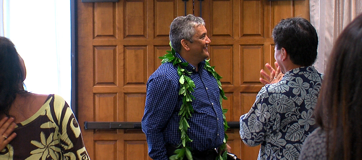 VIDEO: Mayor Kenoi Gives Speech As Grand Jury Indicts