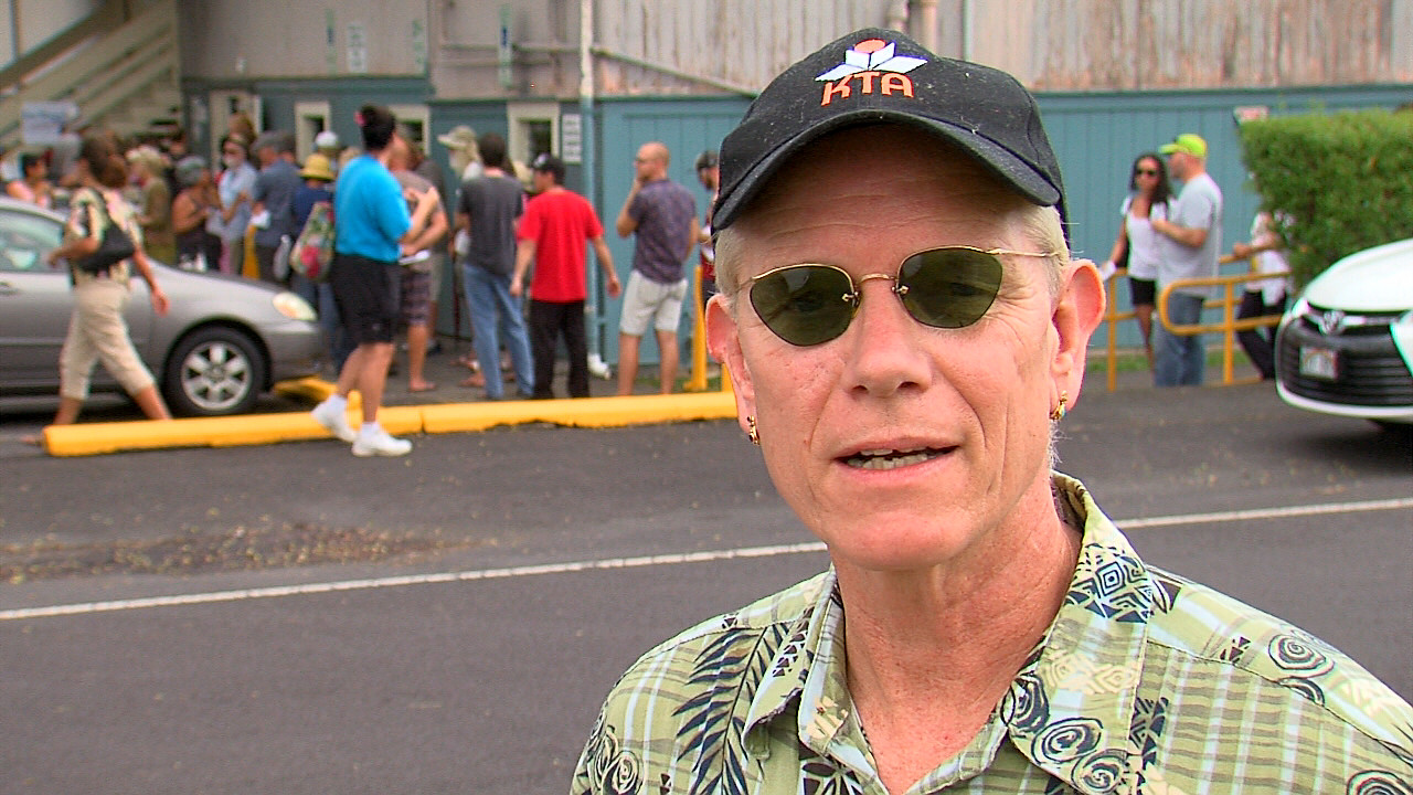 Peter Serafin talks about the situation in Kea'au, and compares it to reports he has read from other states.