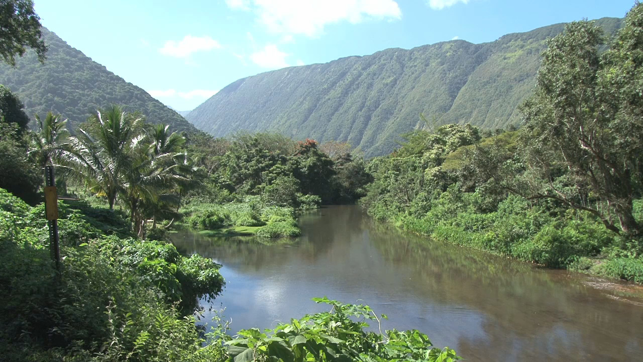 Waipi'o Valley view by Visionary Video