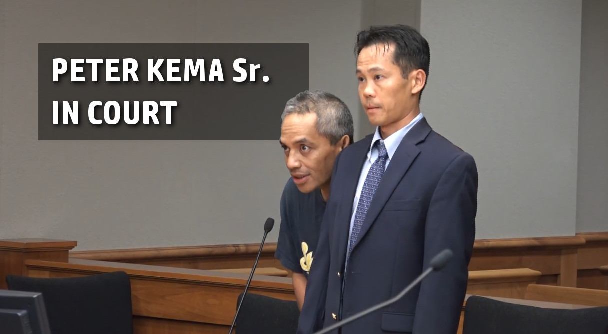 VIDEO: Peter Kema Sr. Pleads Not Guilty In Court