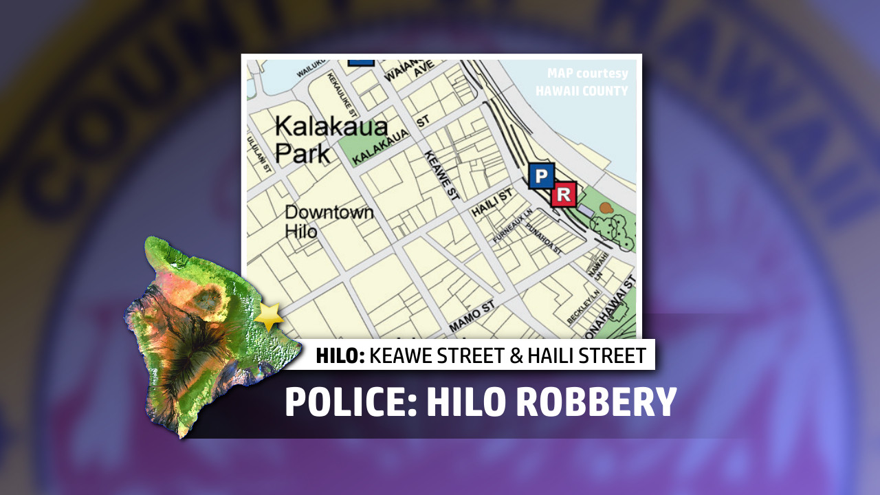 Wallet, Cell Phone Taken In Downtown Hilo Robbery