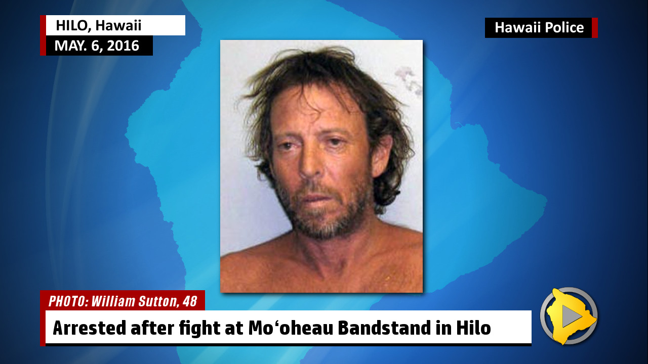 Man Arrested For Assault At Hilo Mooheau Bandstand