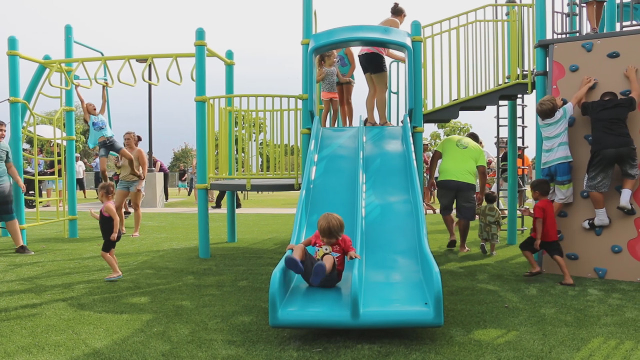 VIDEO: New Alii Kai Park Blessed In Kailua-Kona