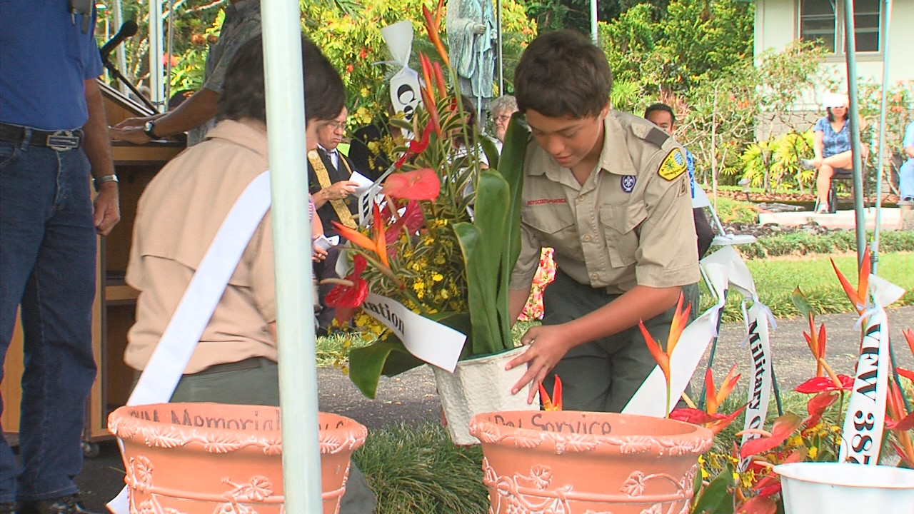 VIDEO: Memorial Day Observance In Puna
