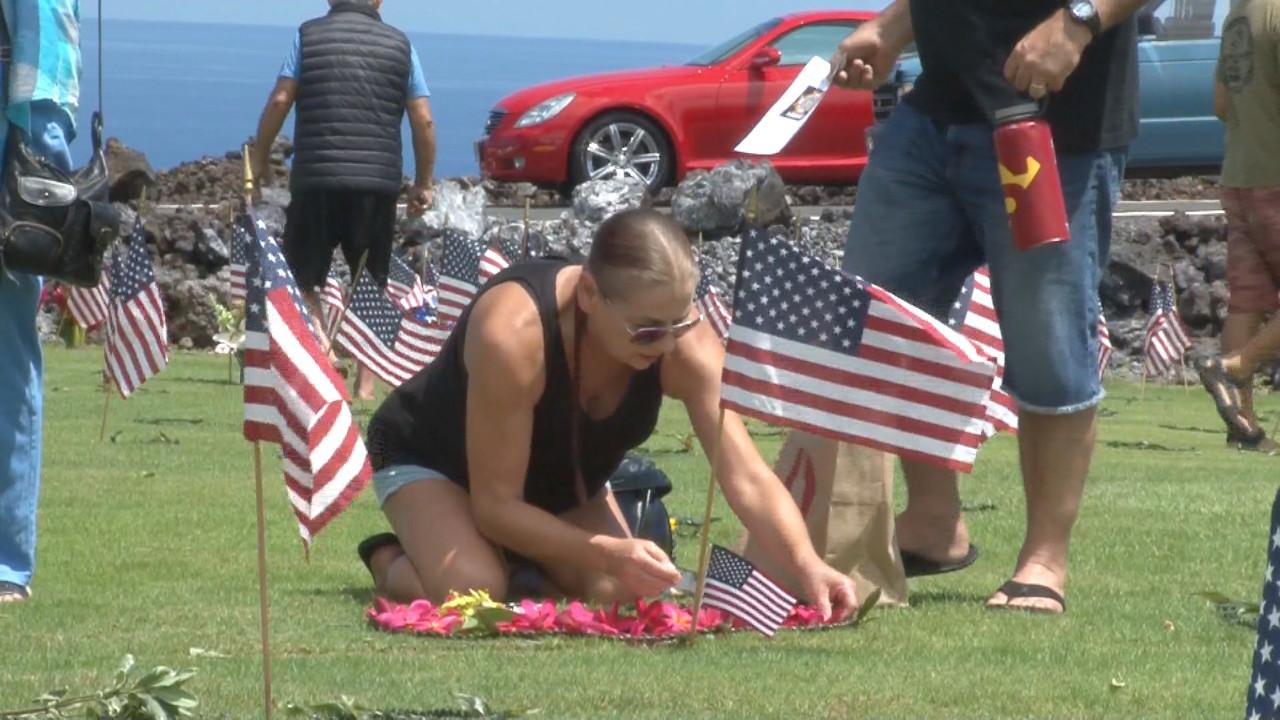 VIDEO: Sen. Hirono Attends West Hawaii Memorial Day