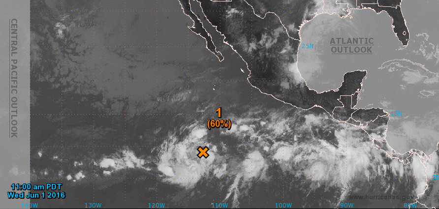 Hurricane Season Begins With Disturbance In Pacific