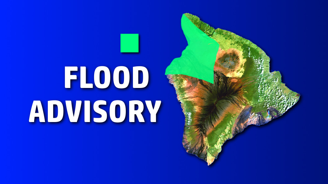 Flood Advisory In Effect For Hawaii Island