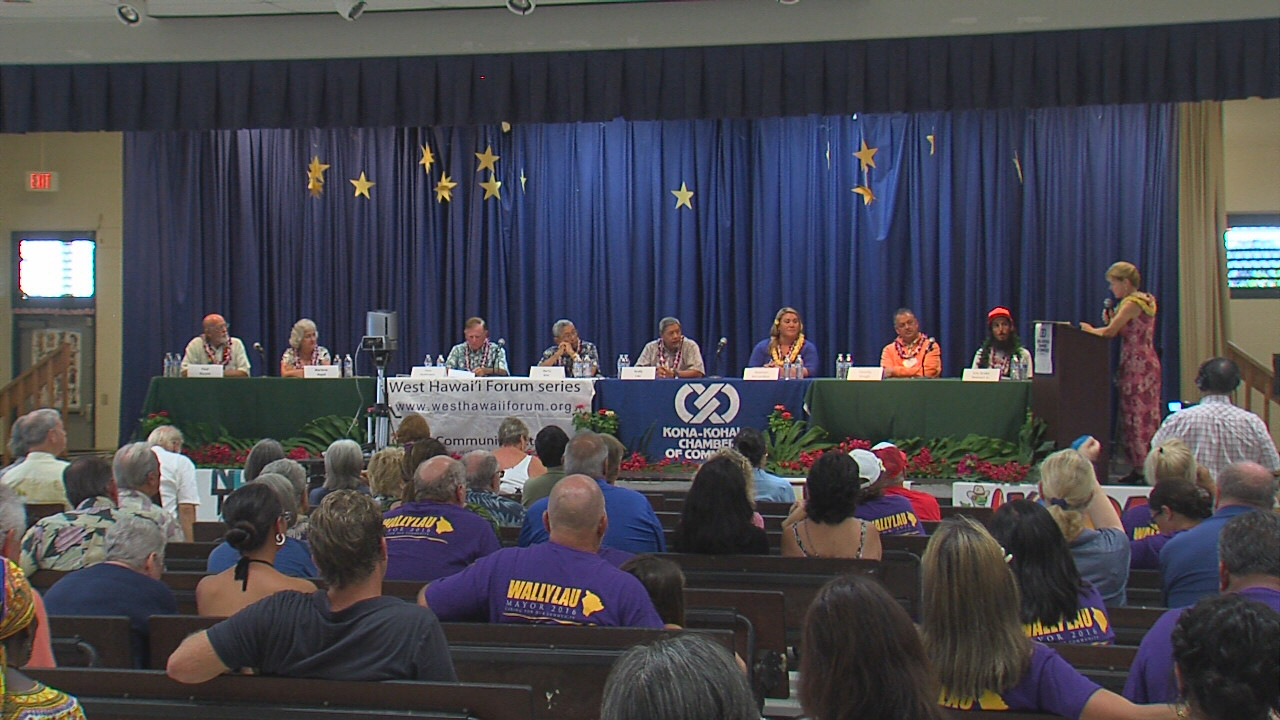 VIDEO: Kona Forum – Meet The Candidates For Hawaii Mayor