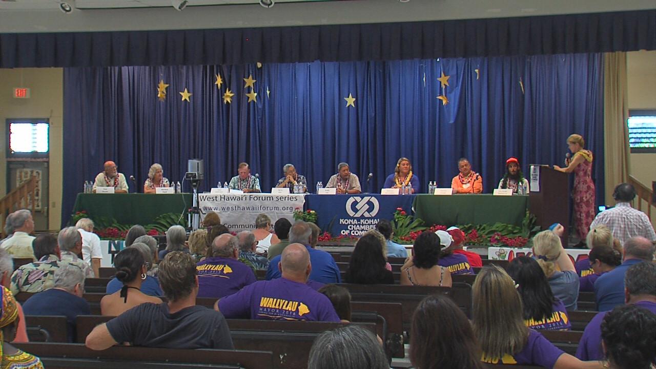 VIDEO: Kona Forum – Meet The Candidates For Hawaii Mayor