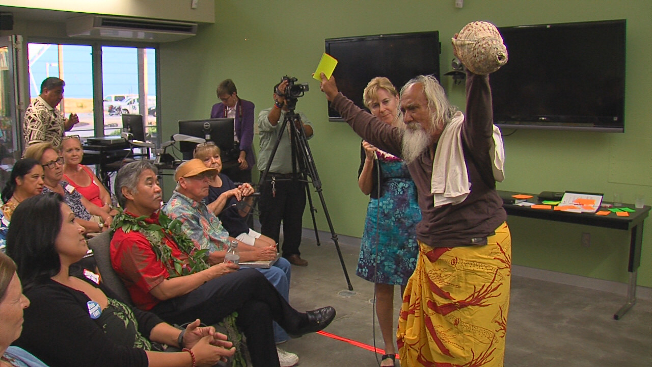 VIDEO: Governor, Public Talk TMT In Kona