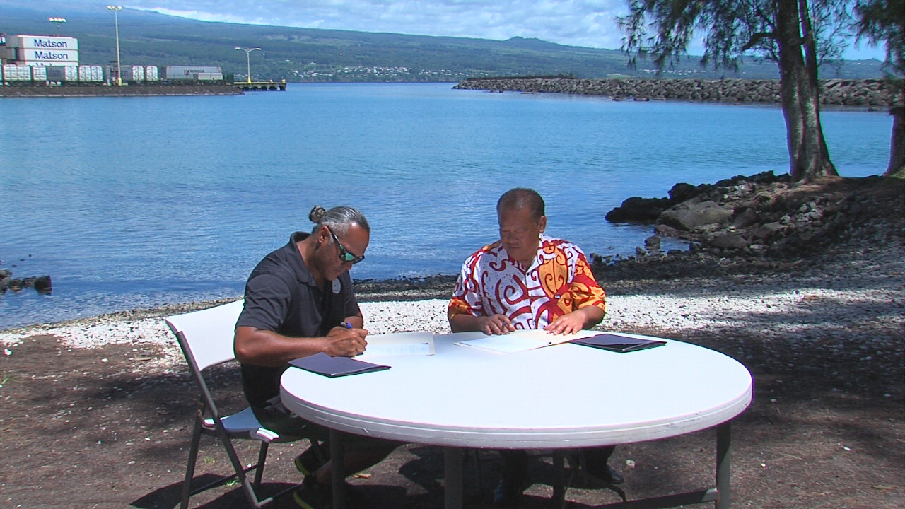 VIDEO: Palekai Signed Over To Keaukaha Non-Profit