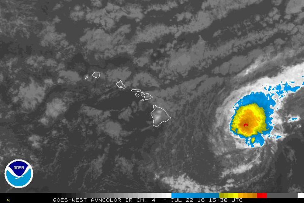 Tropical Storm Warning: Hawaii Braces For Darby