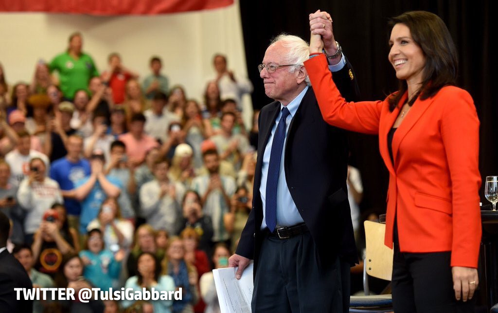 Hawaii Rep. Gabbard To Nominate Sanders At Dem Convention