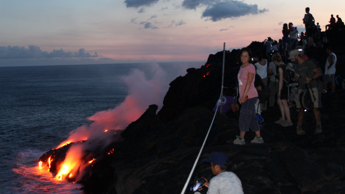 Lava Show Marks 100 Year Birthday Of Hawaii Volcanoes Park