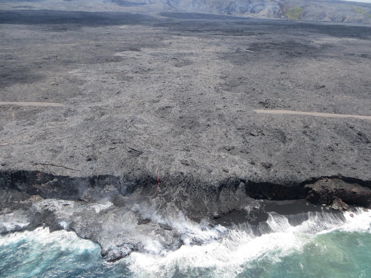 Image courtesy USGS Hawaiian Volcano Observatory