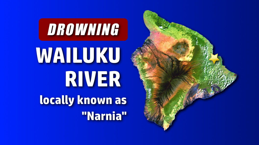 Drowning In Hilo's Upper Wailuku River