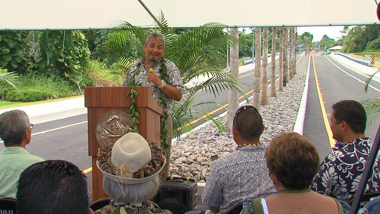 VIDEO: New Kapiolani Street Extension Opens