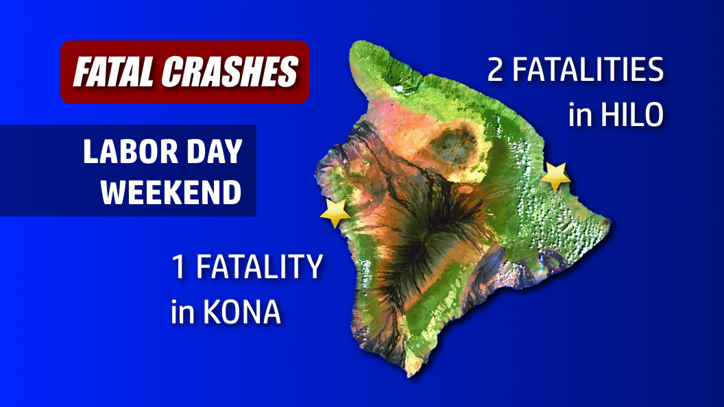 Police ID Victims After Deadly Weekend On Big Island Roads
