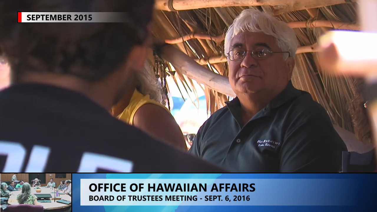 VIDEO: OHA Discusses Mauna Kea, Sets Hawaii Island Meeting