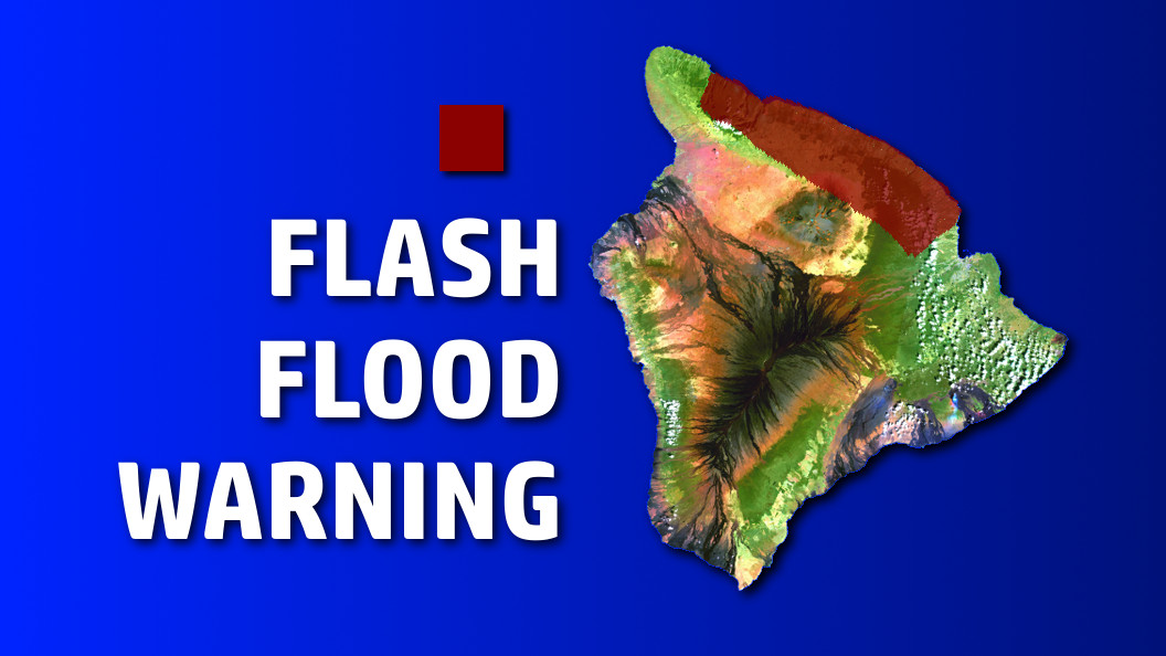 Flash Flood Warning For Hamakua Coast