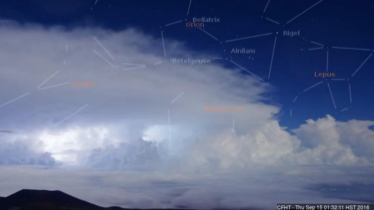 VIDEO: Big Island Lightning Captured On CFHT Cloudcam