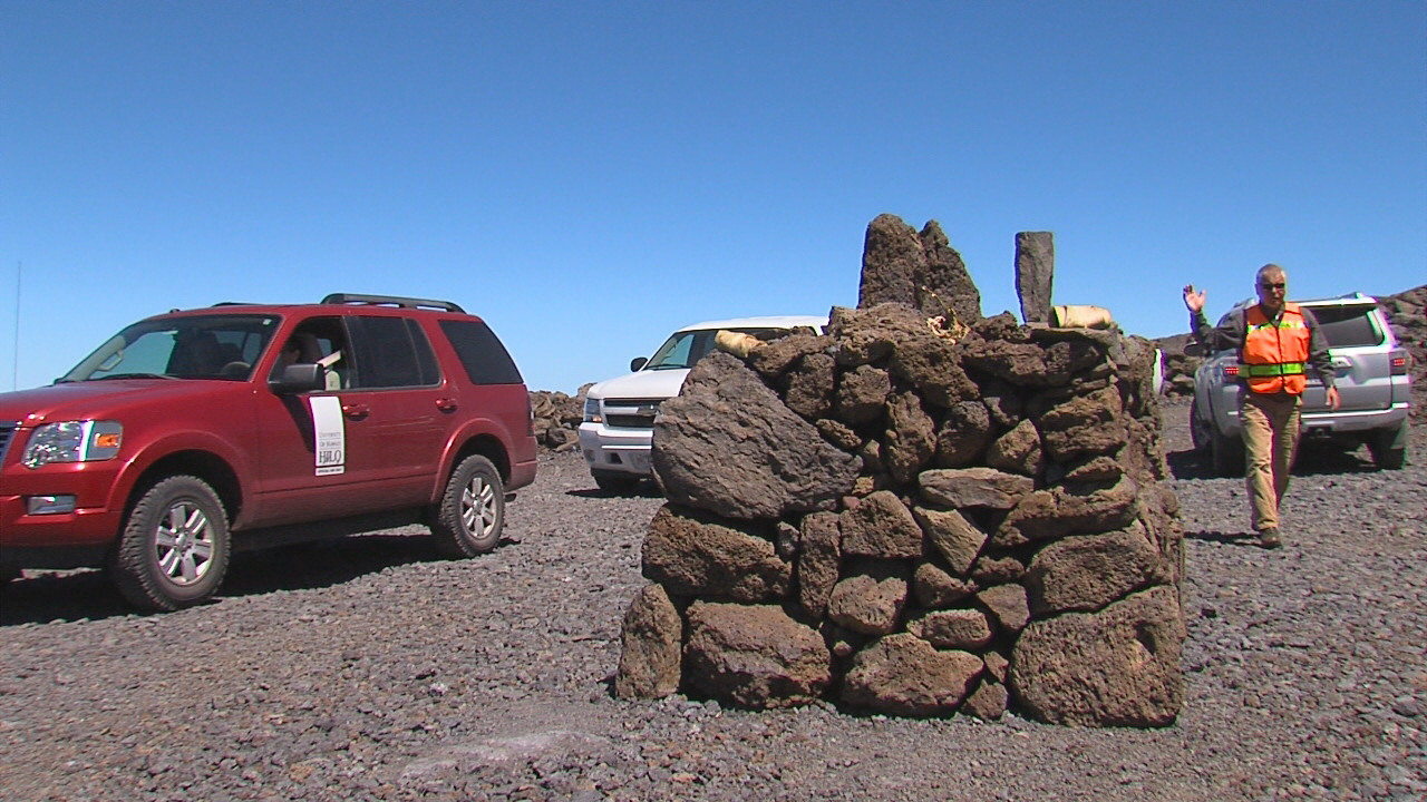 VIDEO: Mauna Kea Site Visit Before TMT Contested Case