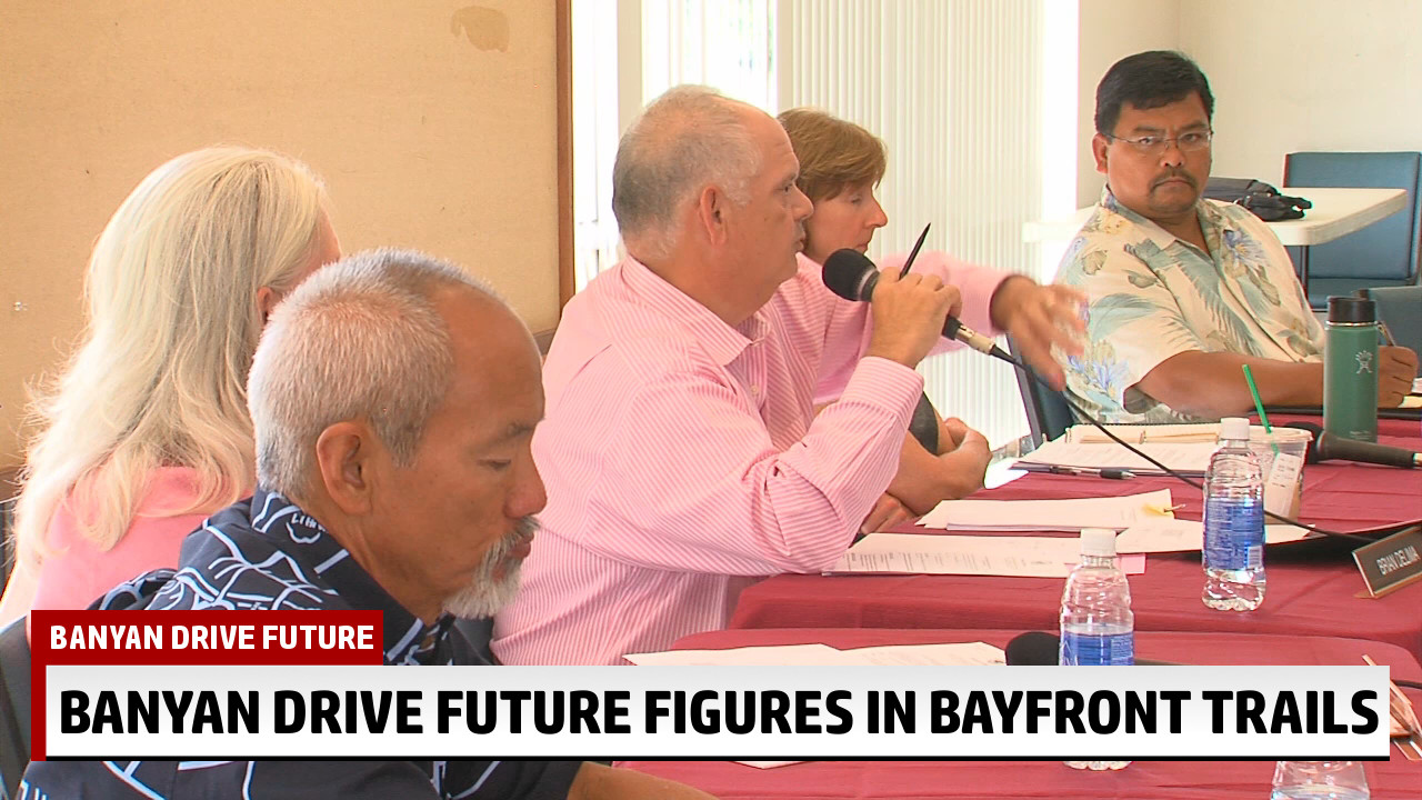 VIDEO: Hilo Bayfront Trails And The Future Of Banyan Drive