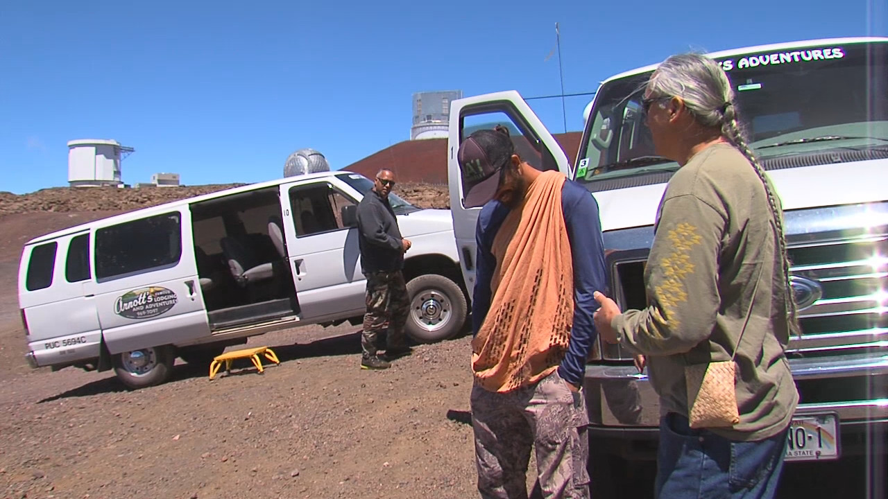 "VIDEO: Objections To ""Fast Track"" Mauna Kea Site Visit Raised"