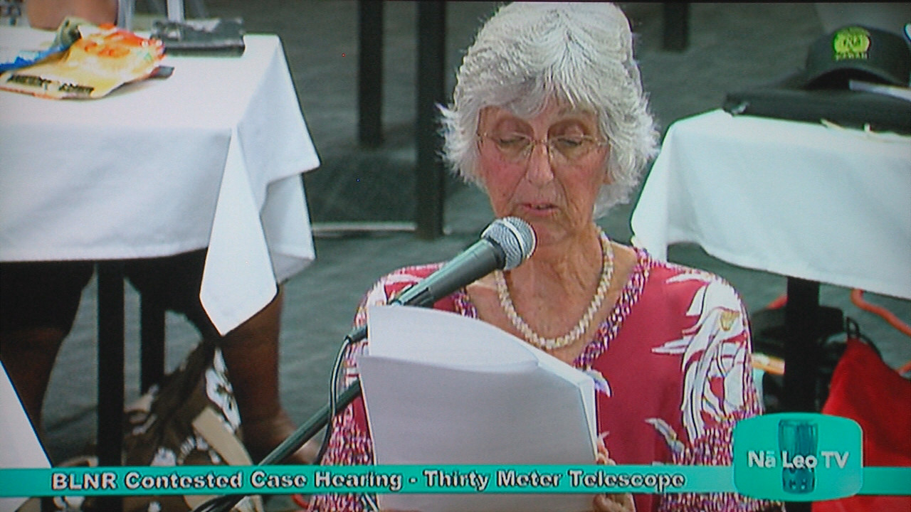 VIDEO: Ward Cross Examines White During TMT Hearing