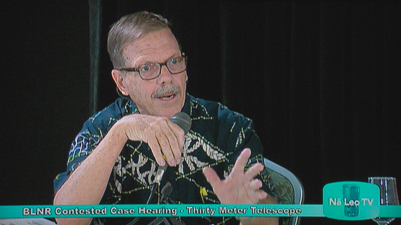 VIDEO: Planner Testifies TMT Consistent Conservation Use