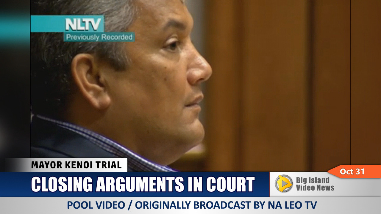 VIDEO: Closing Arguments In Kenoi Trial, Jury Deliberates
