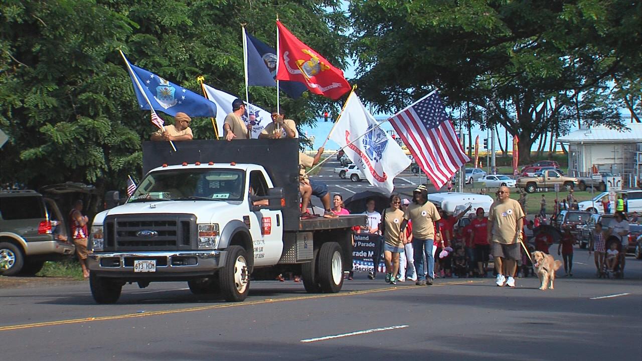 VIDEO: Hawaii Island Veterans Day Parade 2016